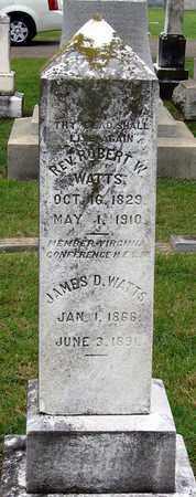 WATTS, ROBERT W. - Roanoke (City of) County, Virginia | ROBERT W. WATTS - Virginia Gravestone Photos