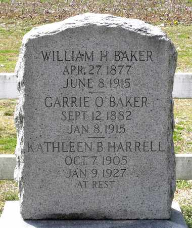 BAKER, GARRIE O. - Suffolk (City of) County, Virginia | GARRIE O. BAKER - Virginia Gravestone Photos