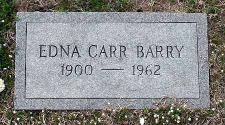 CARR BARRY, EDNA - Suffolk (City of) County, Virginia | EDNA CARR BARRY - Virginia Gravestone Photos