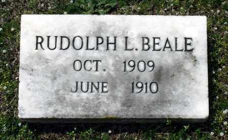 BEALE, RUDOLPH L. - Suffolk (City of) County, Virginia | RUDOLPH L. BEALE - Virginia Gravestone Photos