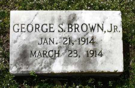BROWN, GEORGE S. JR. - Suffolk (City of) County, Virginia | GEORGE S. JR. BROWN - Virginia Gravestone Photos