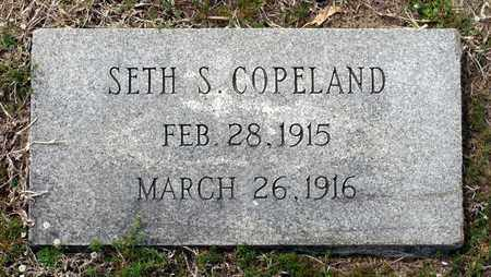 COPELAND, SETH S. - Suffolk (City of) County, Virginia   SETH S. COPELAND - Virginia Gravestone Photos