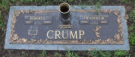 CRUMP, FRANCES W. - Suffolk (City of) County, Virginia   FRANCES W. CRUMP - Virginia Gravestone Photos