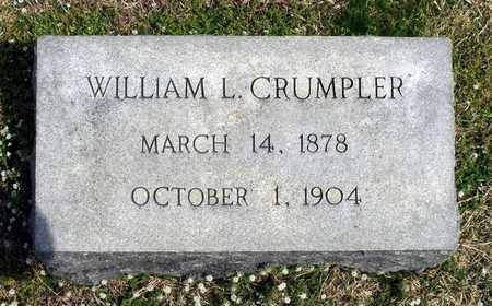CRUMPLER, WILLIAM L. - Suffolk (City of) County, Virginia | WILLIAM L. CRUMPLER - Virginia Gravestone Photos