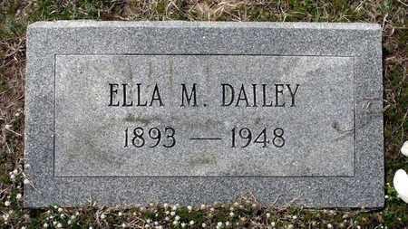 DAILEY, ELLA M. - Suffolk (City of) County, Virginia | ELLA M. DAILEY - Virginia Gravestone Photos