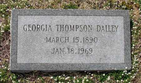 THOMPSON DAILEY, GEORGIA - Suffolk (City of) County, Virginia | GEORGIA THOMPSON DAILEY - Virginia Gravestone Photos