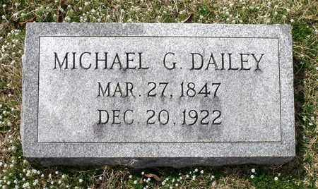 DAILEY, MICHAEL G. - Suffolk (City of) County, Virginia | MICHAEL G. DAILEY - Virginia Gravestone Photos