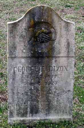 DIXON, GEORGE F. - Suffolk (City of) County, Virginia | GEORGE F. DIXON - Virginia Gravestone Photos