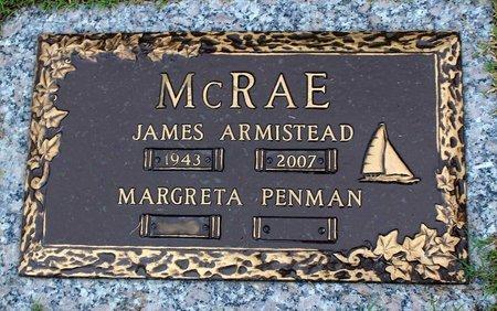 MCRAE, JAMES ARMISTEAD - Suffolk (City of) County, Virginia   JAMES ARMISTEAD MCRAE - Virginia Gravestone Photos