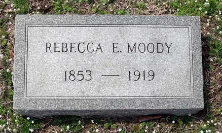 MOODY, REBECCA E. - Suffolk (City of) County, Virginia   REBECCA E. MOODY - Virginia Gravestone Photos