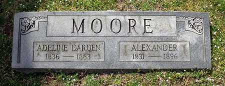 MOORE, ALEXANDER - Suffolk (City of) County, Virginia | ALEXANDER MOORE - Virginia Gravestone Photos