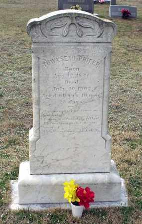 PHIFER, TOWNSEND - Suffolk (City of) County, Virginia | TOWNSEND PHIFER - Virginia Gravestone Photos