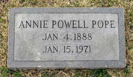 POWELL POPE, ANNIE - Suffolk (City of) County, Virginia | ANNIE POWELL POPE - Virginia Gravestone Photos