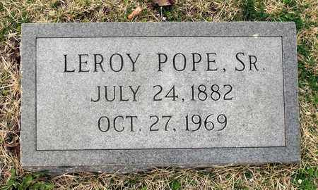 POPE, LEORY SR. - Suffolk (City of) County, Virginia | LEORY SR. POPE - Virginia Gravestone Photos