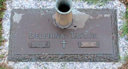 TAYLOR, DELPHINA - Suffolk (City of) County, Virginia   DELPHINA TAYLOR - Virginia Gravestone Photos