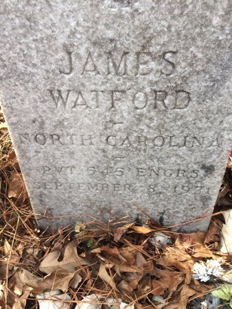 WATFORD, JAMES - Suffolk (City of) County, Virginia | JAMES WATFORD - Virginia Gravestone Photos