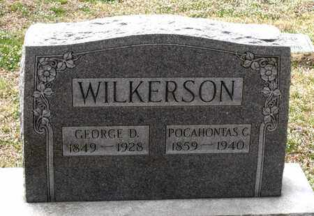 WILKERSON, GEORGE D. - Suffolk (City of) County, Virginia | GEORGE D. WILKERSON - Virginia Gravestone Photos