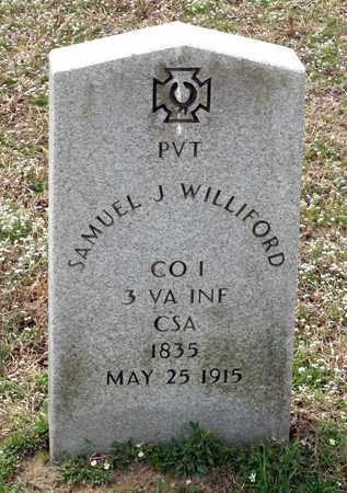 WILLIFORD, SAMUEL J. - Suffolk (City of) County, Virginia | SAMUEL J. WILLIFORD - Virginia Gravestone Photos