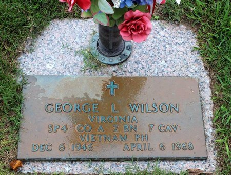 WILSON, GEORGE LOUIS - Suffolk (City of) County, Virginia | GEORGE LOUIS WILSON - Virginia Gravestone Photos