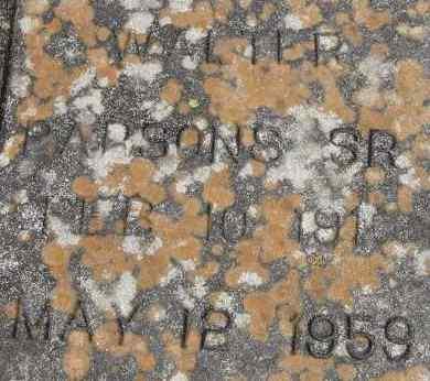 PARSONS, WALTER - Virginia Beach (City of) County, Virginia   WALTER PARSONS - Virginia Gravestone Photos
