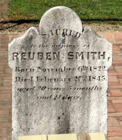 SMITH, REUBEN - Williamsburg (City of) County, Virginia | REUBEN SMITH - Virginia Gravestone Photos
