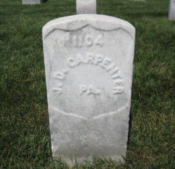 CARPENTER (CW), JAMES D. - Winchester (City of) County, Virginia   JAMES D. CARPENTER (CW) - Virginia Gravestone Photos