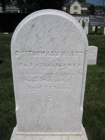 HYATT (CW), THOMAS J. - Winchester (City of) County, Virginia   THOMAS J. HYATT (CW) - Virginia Gravestone Photos