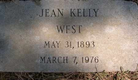 WEST, JEAN KELLY - Winchester (City of) County, Virginia | JEAN KELLY WEST - Virginia Gravestone Photos