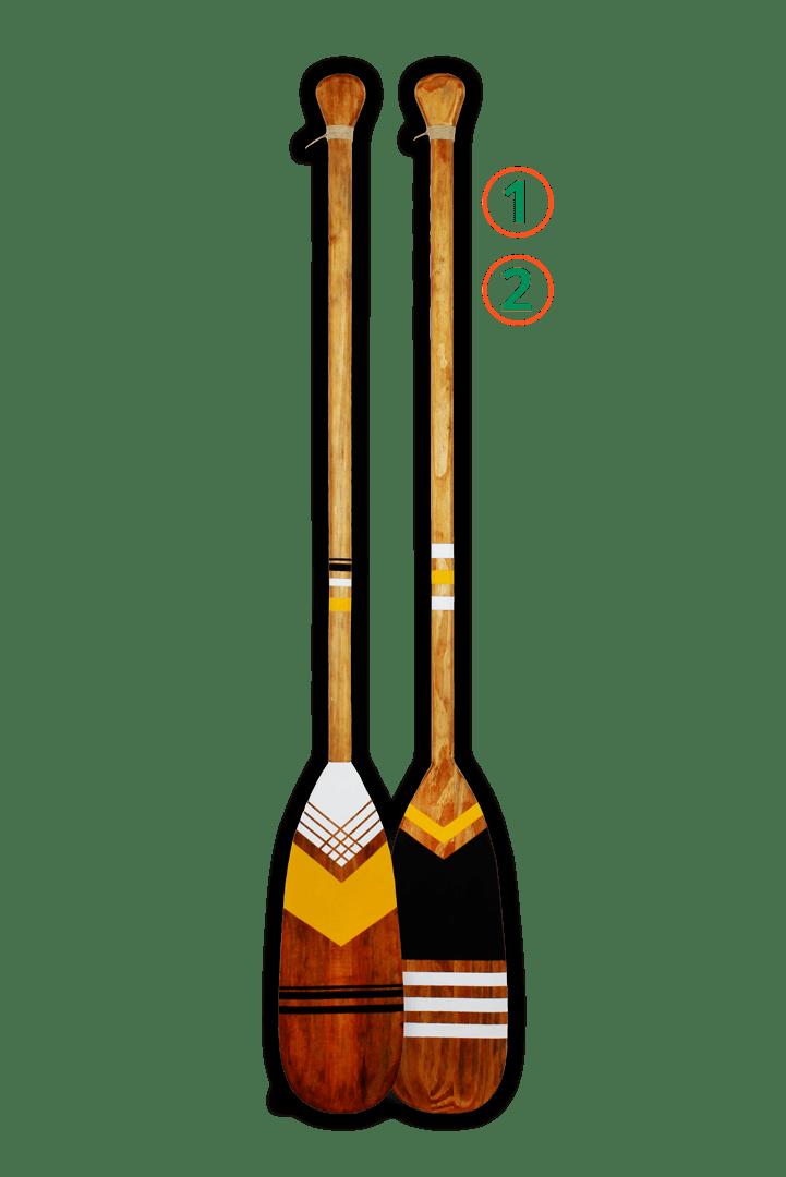 2 remos tribais - Pintura 1 e 2