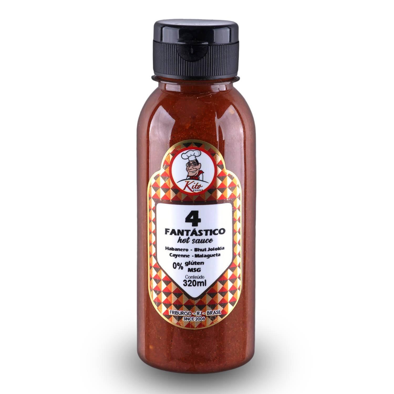 4 Fantastico Hot Sauce 320ml