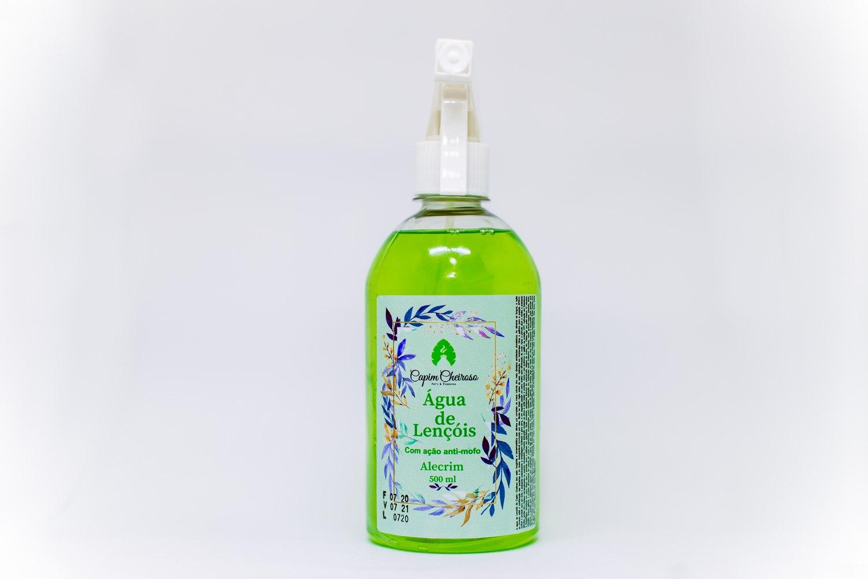 Água de Lençóis com ação anti-mofo 500ml- Capim Cheiroso - Alecrim