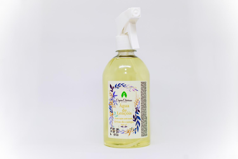 Água de Lençóis com ação anti-mofo 500ml - Capim Cheiroso - Ervas do campo