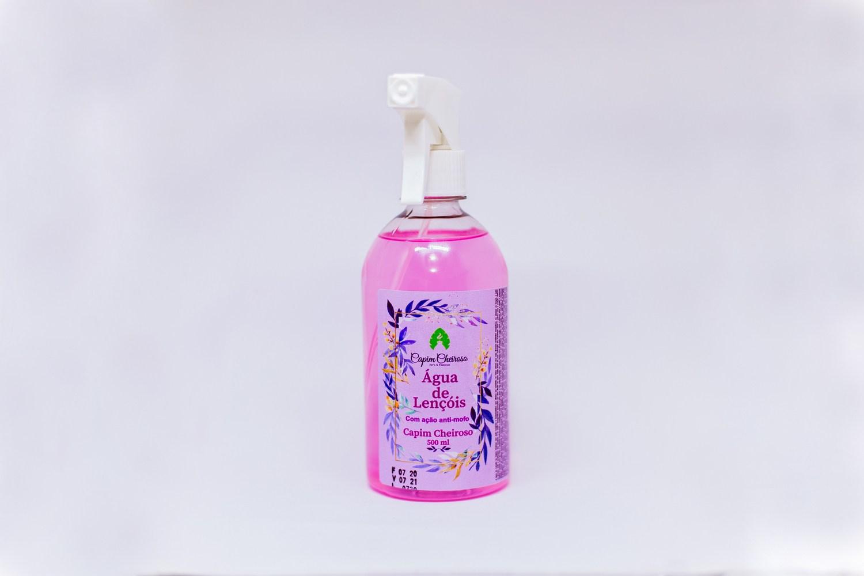 Água de Lençóis com ação anti-mofo 500ml - Capim Cheiroso