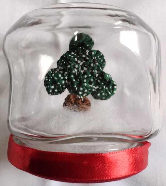 Árvore de Natal no Vidro P