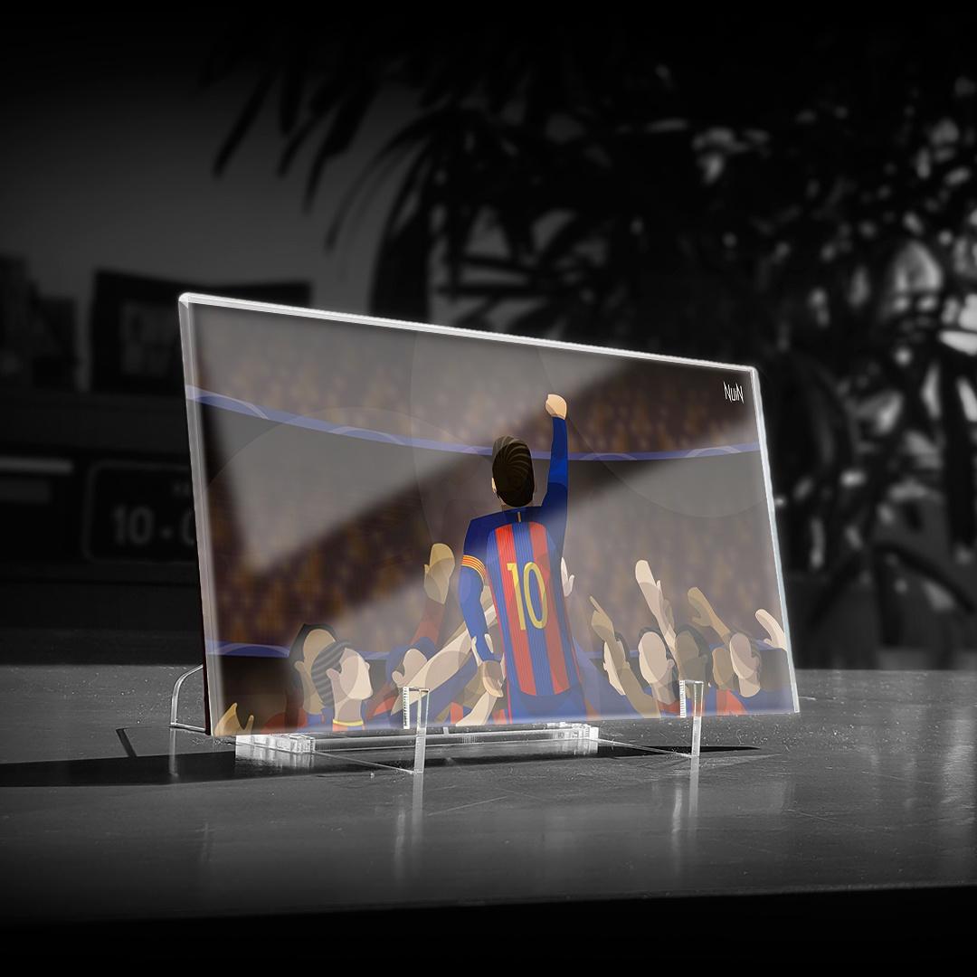 Barcelona 2017 - 6 x 1 Impossível (PLACA)