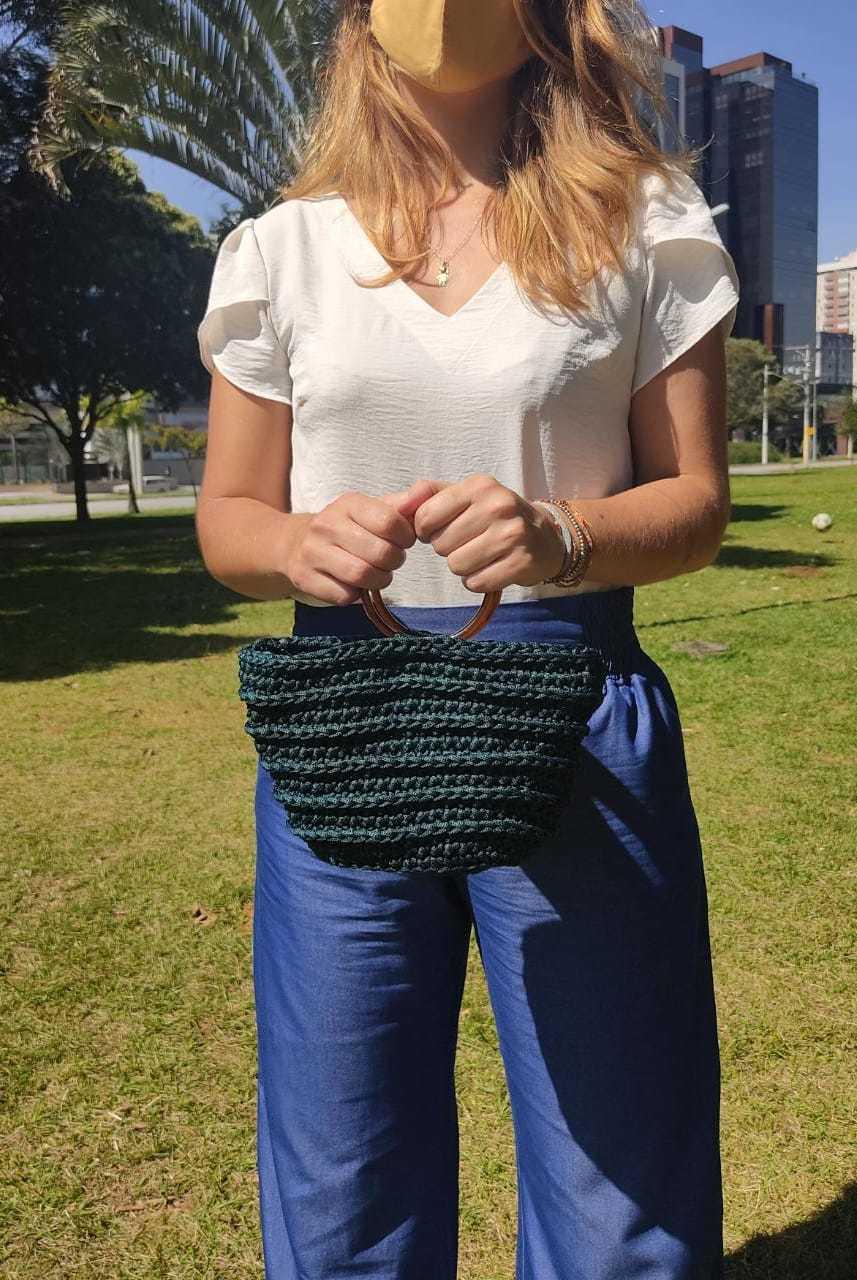 Bolsa em Crochê Antônia Small