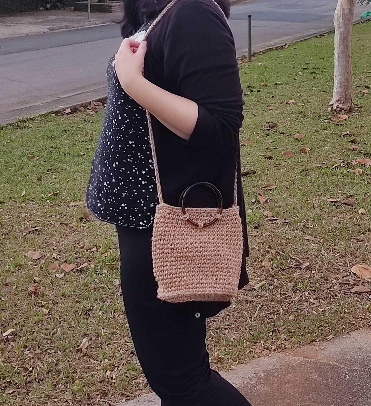 Bolsa em Crochê Luísa