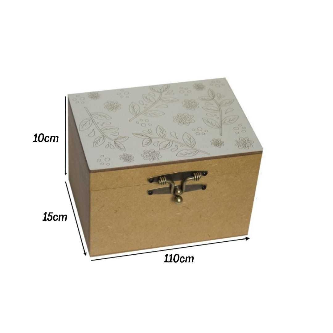 Caixa PC MDF Para 12 Óleos Essenciais