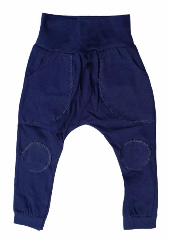 Calça Lisa Azul Marinho