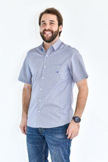Camisa Classic - Vichy Azul