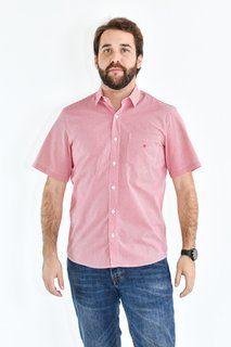 Camisa Classic - Vichy Vermelha