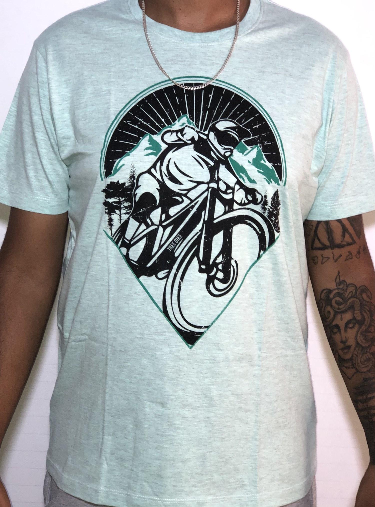 Camiseta Básica - Downhill  - Cod 018