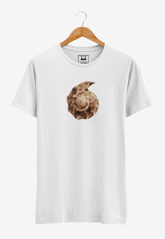 Camiseta Branca Concha RACCON