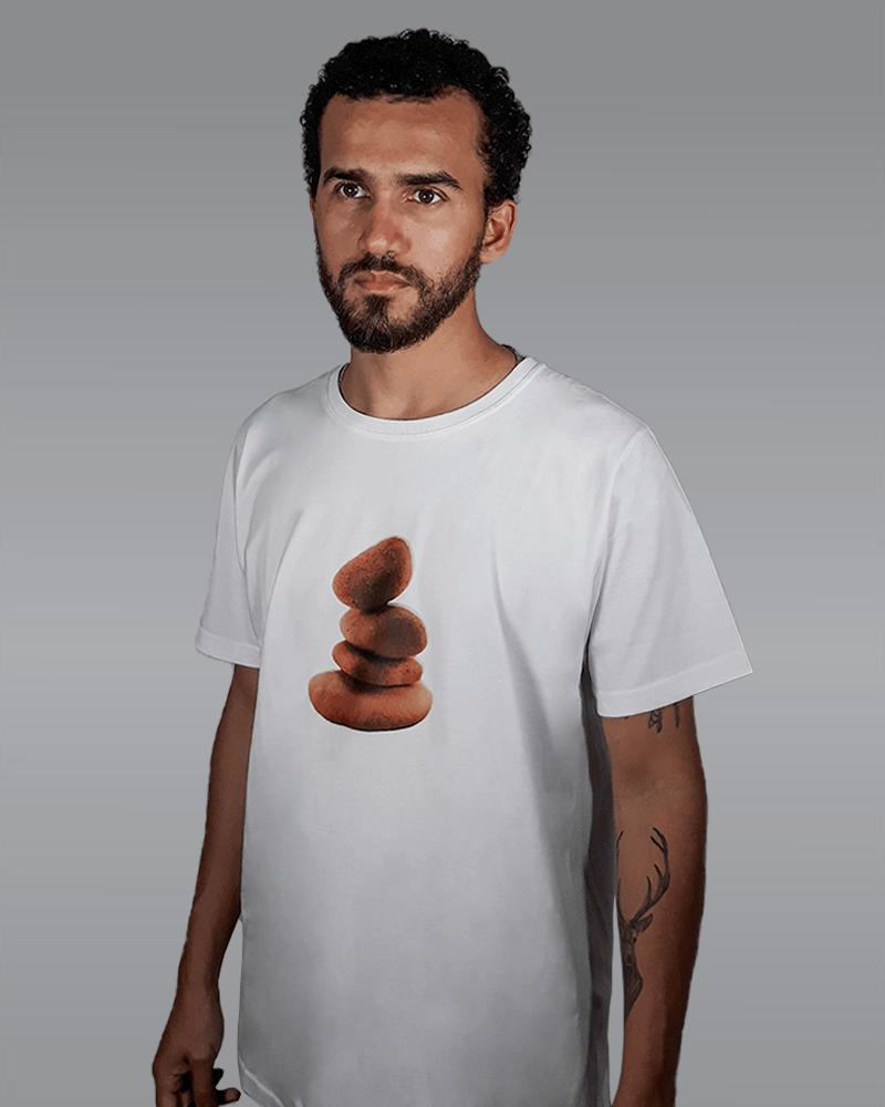 Camiseta Branca Stone RACCON