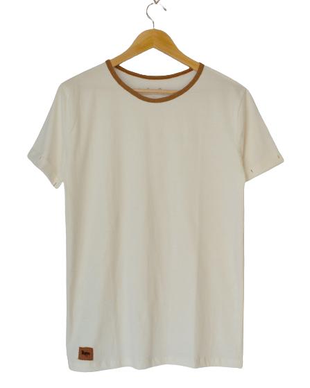 Camiseta de Algodão Orgânico Básica - trippi.