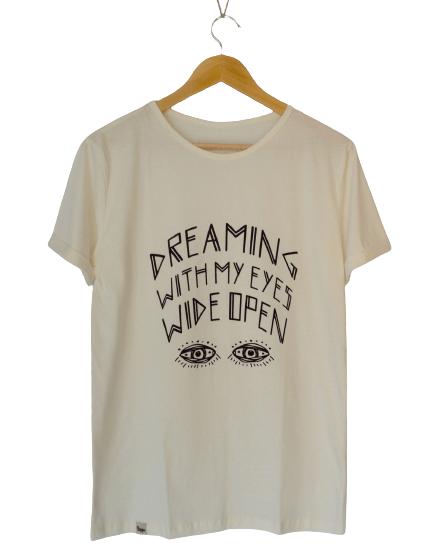 Camiseta de Algodão Orgânico Dreaming - trippi.