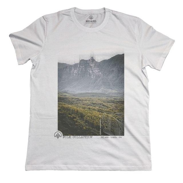 Camiseta Feminina Cânion Espraiado