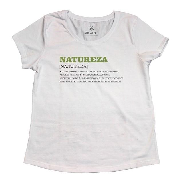 Camiseta Feminina Natureza