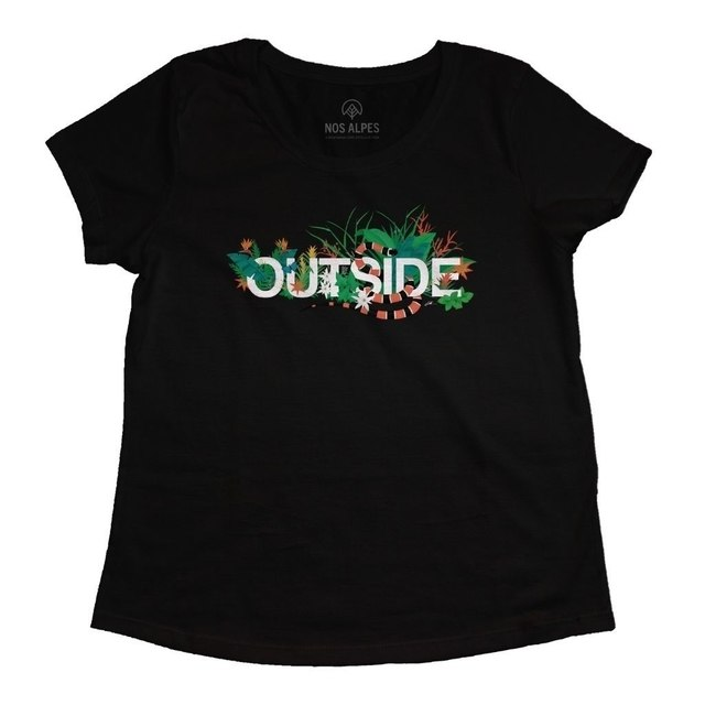 Camiseta Feminina Outside Mata Atlântica