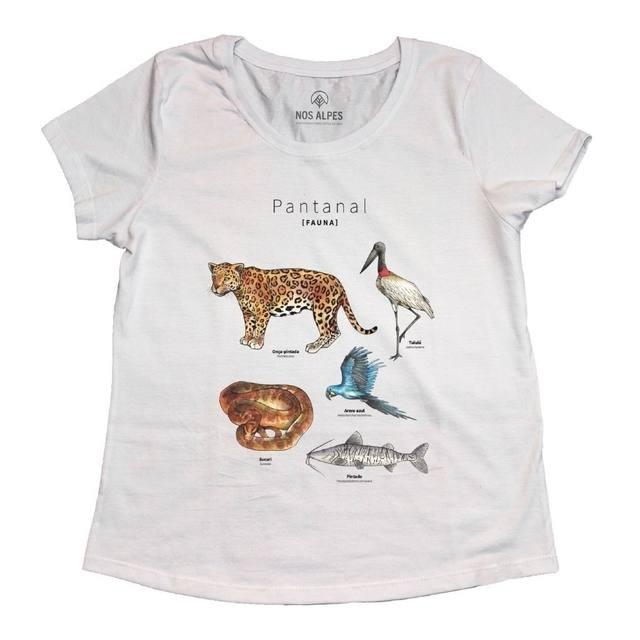 Camiseta Feminina Pantanal